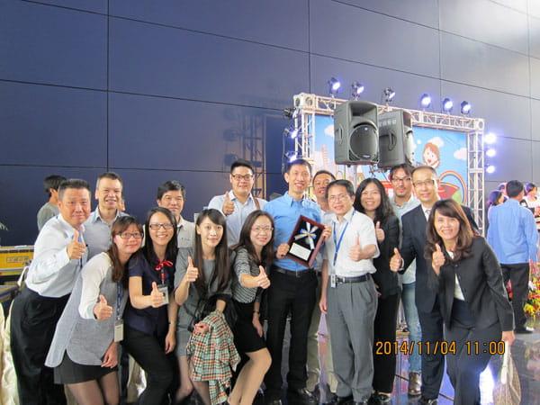LOHAS Workplace Award Bossard Taiwan