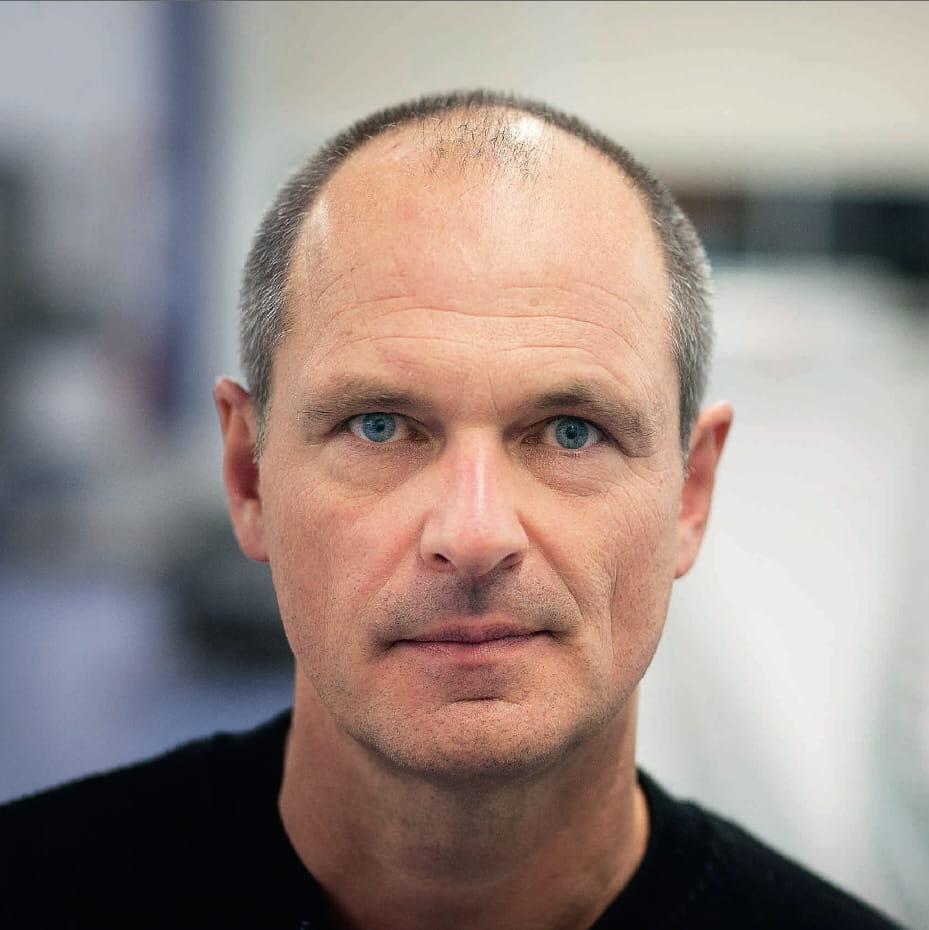 Alain Berenbach, Mechanical Designer, Gebo Cermex