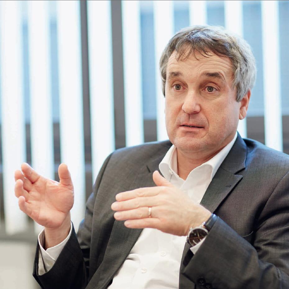 Berthold Kübler, Leiter Betrieb und Logistik, Hawa AG Schweiz