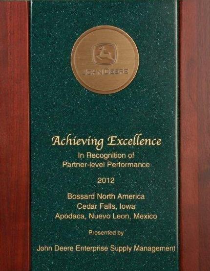 John Deere Partner Level Certificate
