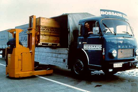 Bossard history: The 1960's and 1980's - from Regional to National