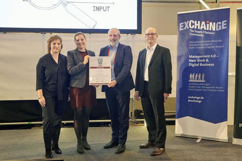 Exchainge Smart Supply Chain Award Bossard