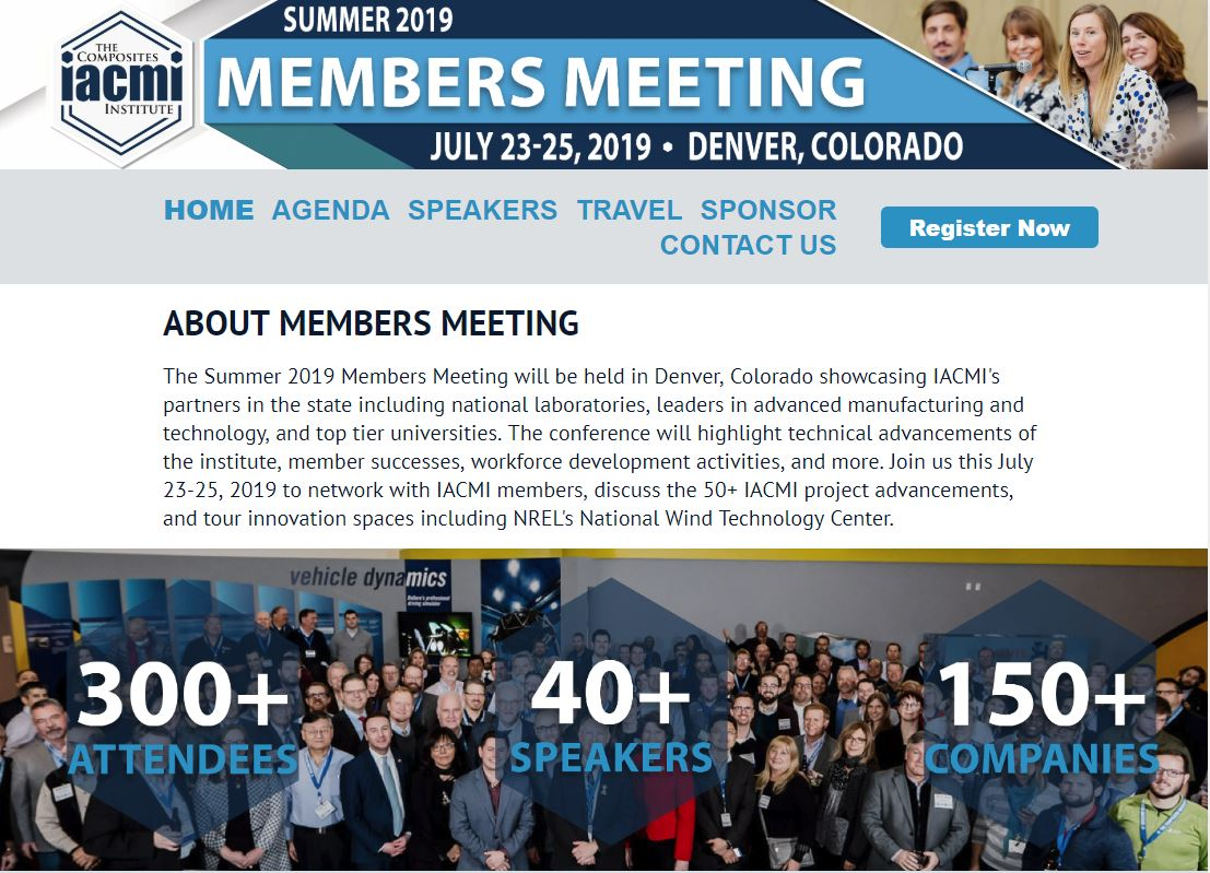 IACMI Summer 2019 event