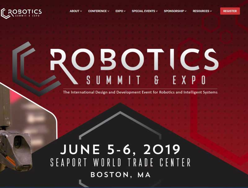 Bossard at Robotics Summit and expo 2019
