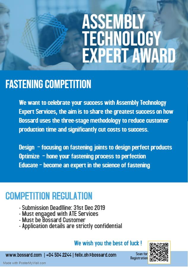 Assembly Technology Expert Award