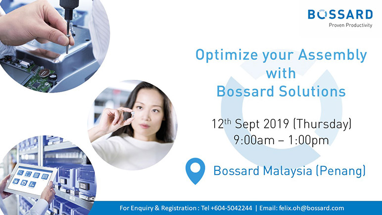 Optimize your Assembly with Bossard Solutions