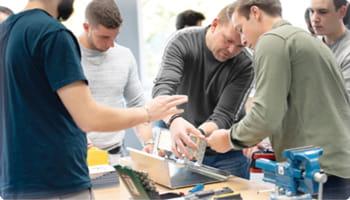 Workshop in der Bossard Academy