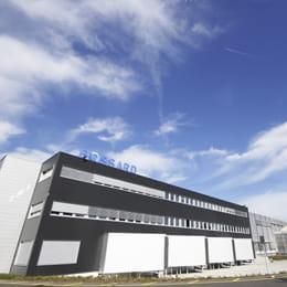Das Bossard AG Lagergebäude in Zug