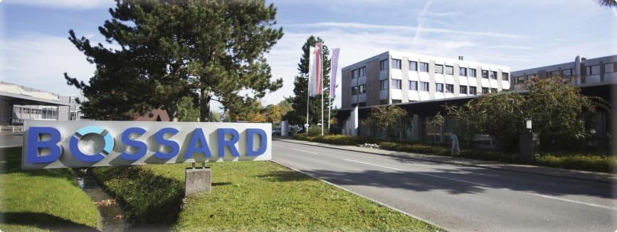 Bossard Hauptgebäude in Zug