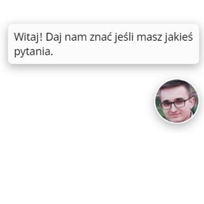 Live Chat na stronie Bossard Poland