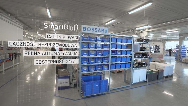 System Bossard SmartBin w fabryce Garo Polska