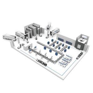 Schemat inteligentnej fabryki