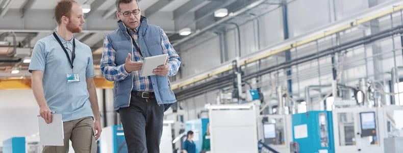 Bossard Expert Walk analyzes an assembly process