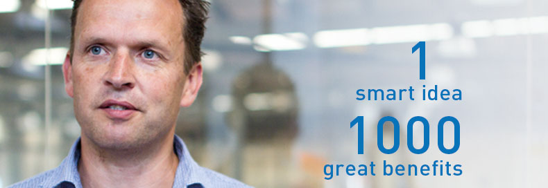 1 smart idea – 1000 great benefits