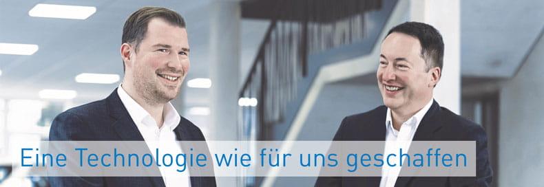 Matthias Mitter, Bossard Group, und Mark Maibom, Johann Borgers GmbH