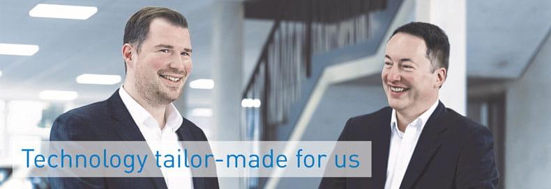 Matthias Mitter, Bossard Group, and Mark Maibom, Johann Borgers GmbH
