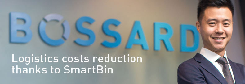 Logistics costs reduction thanks to SmartBin