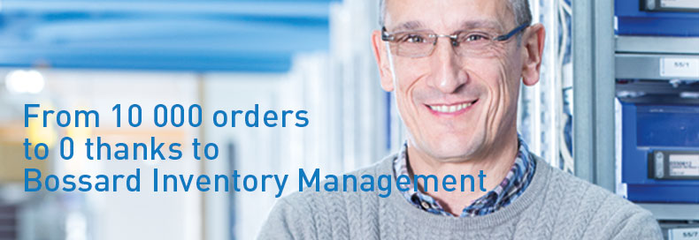 From 10 000 orders to 0 thanks to Bossard Inventory Management