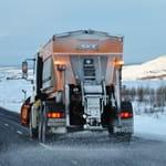 Maskine til vedligeholdelse af veje