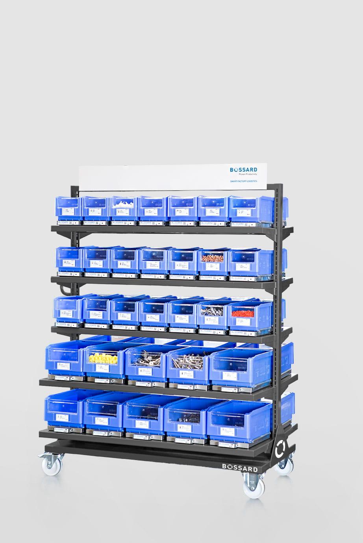 Bossard SmarBin Logistic System