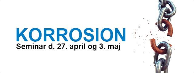 Seminar Korrosion Denmark