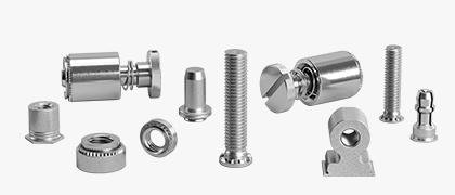 Elementos de fijación autosujetables y perforantes