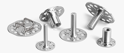 Embedding and Surface Bonding Fasteners