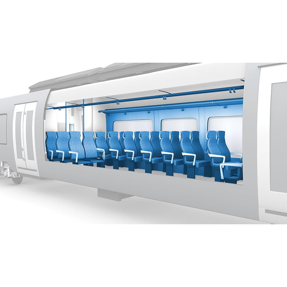 Interior of Railcar Vehicles