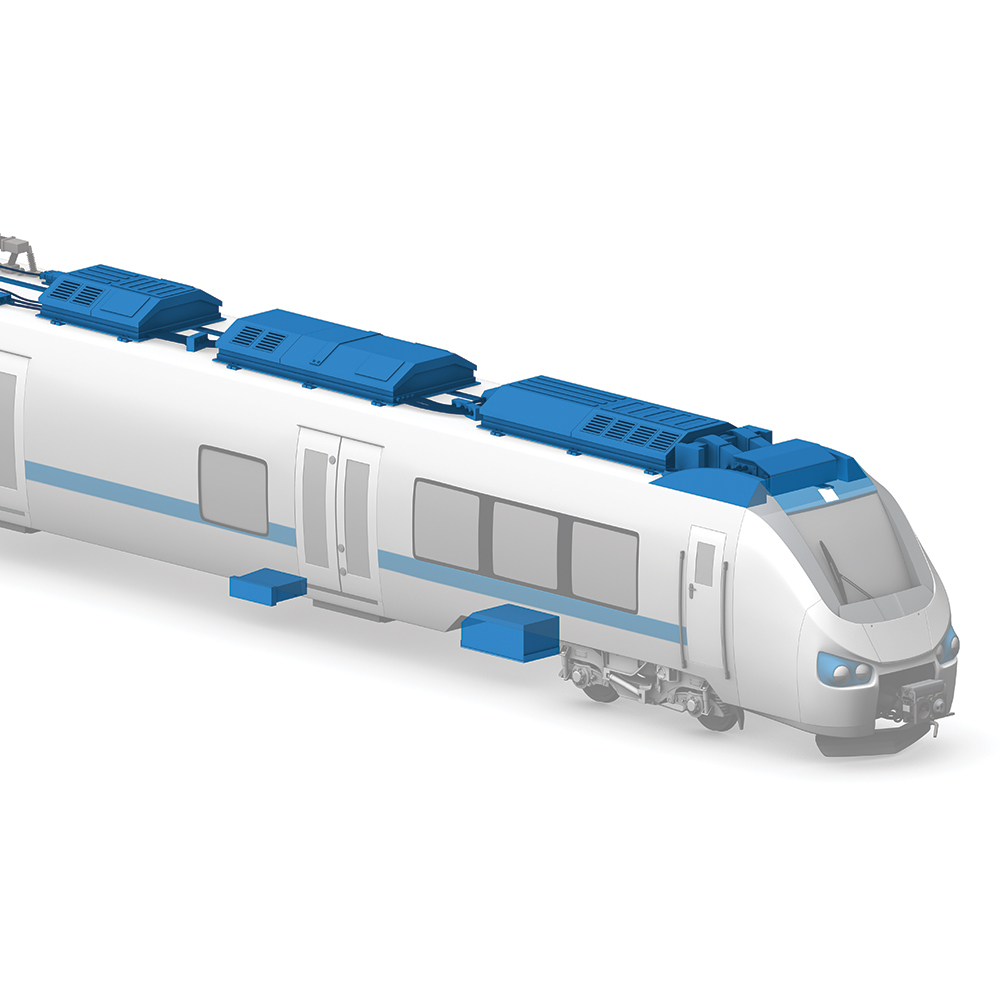 Supply Units in Rail Vehicles
