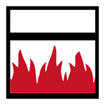 Brandtest symbol