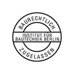 Deutsches Institut für Bautechnik godkendt